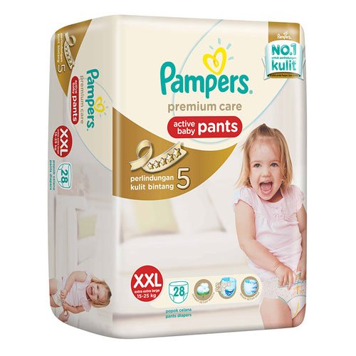 Pampers Premium Care Baby Pants - XXL 28