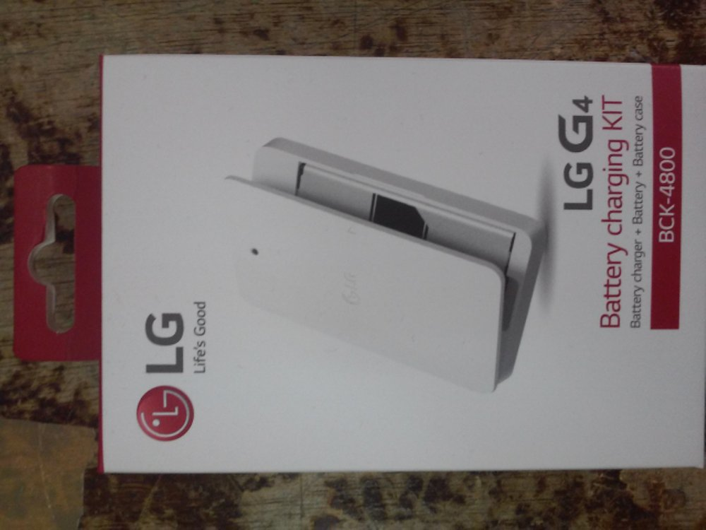Battery charging kit LG G4 100% ORIGINAL