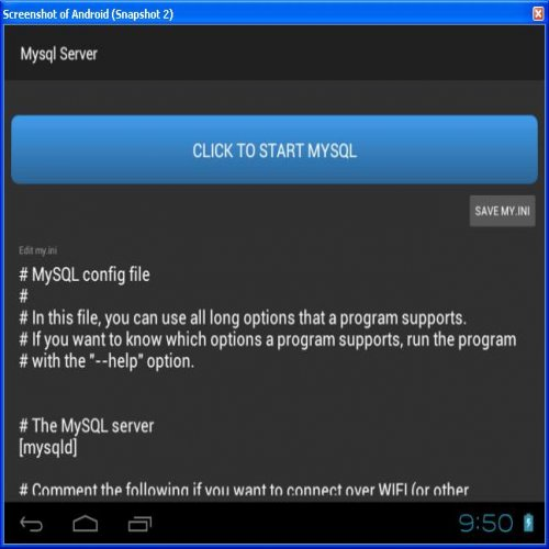 Promo Lite Mysql Server for Android without root access