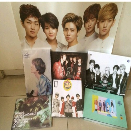 OPEN PO SHINee Album dan Concert DVD