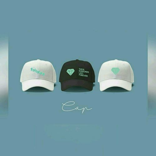 Topi shinee anniversary package non official